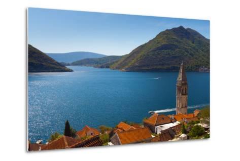 Perast, Bay of Kotor, UNESCO World Heritage Site, Montenegro, Europe-Alan Copson-Metal Print