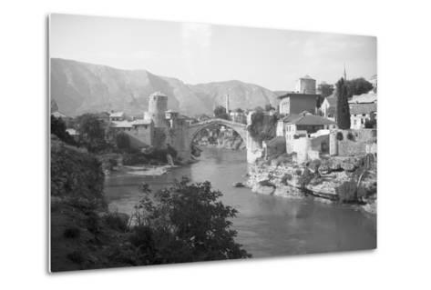 View of Turkish Bridge--Metal Print
