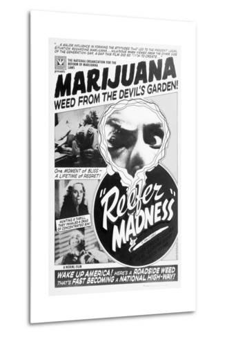 Reefer Madness Movie Poster--Metal Print