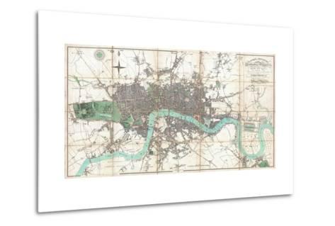 London in Miniature-Edward Mogg-Metal Print