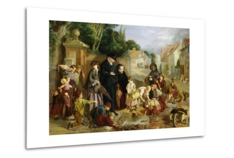 The Lost Change-William Henry Knight-Metal Print