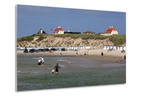 Beach View, Lokken, Jutland, Denmark, Scandinavia, Europe-Stuart Black-Metal Print
