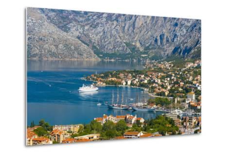 Kotor, Bay of Kotor, UNESCO World Heritage Site, Montenegro, Europe-Alan Copson-Metal Print