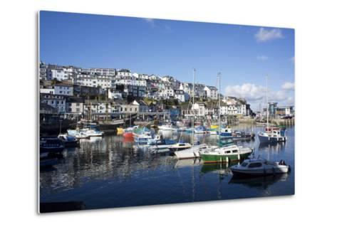 Harbour, Brixham, Devon, England, United Kingdom-Peter Groenendijk-Metal Print