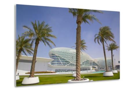 Viceroy Hotel, Yas Island, Abu Dhabi, United Arab Emirates, Middle East-Frank Fell-Metal Print