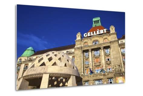 Gellert Hotel and Spa, Budapest, Hungary, Europe-Neil Farrin-Metal Print
