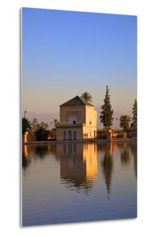 Menara Gardens, Marrakech, Morocco, North Africa, Africa-Neil Farrin-Metal Print