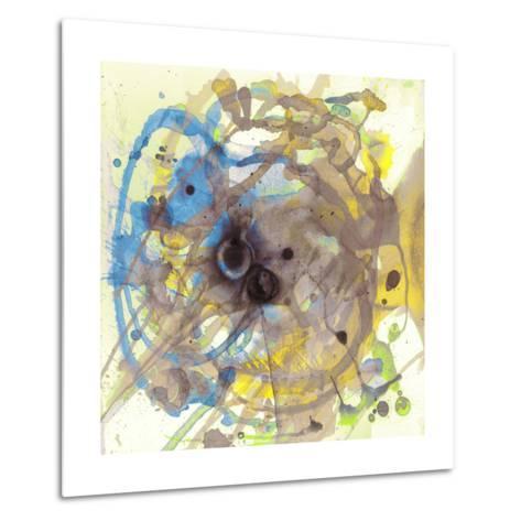 Watercolour Abstract I-Anna Polanski-Metal Print