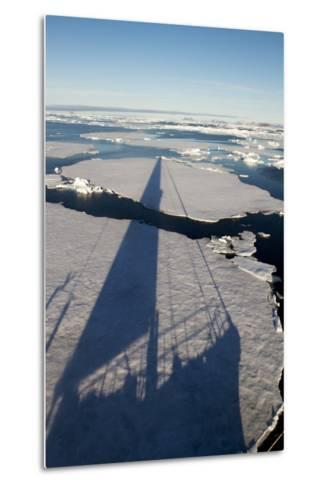 Expedition Yacht, Svalbard, Norway-Paul Souders-Metal Print