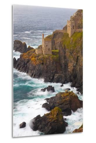 Abandoned Tin Mine Near Botallack-Miles Ertman-Metal Print