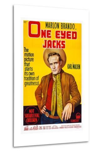 One-Eyed Jacks, Marlon Brando, 1961--Metal Print