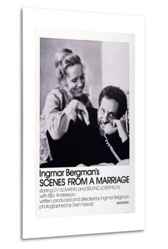 Scenes from a Marriage, Liv Ullmann, Erland Josephson, 1973--Metal Print