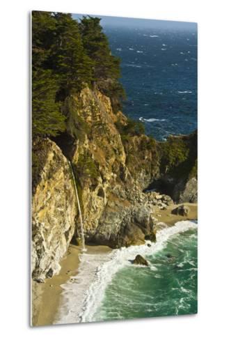 Mcway Falls, Julia Pfeiffer Burns State Park, Big Sur, California, USA-Michel Hersen-Metal Print
