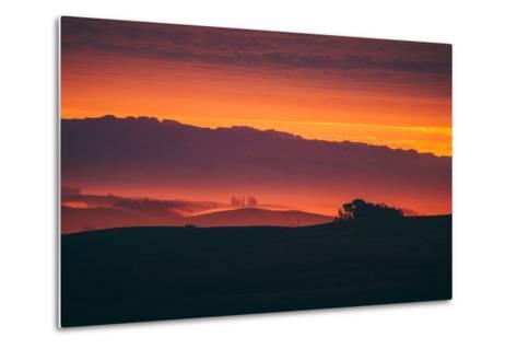 Magical Sun Layers, Petaluma, California--Metal Print