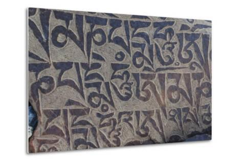 Monastery near Thag Thok, Chemde Valley-Guido Cozzi-Metal Print