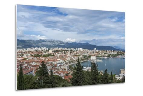 Split Harbor and Old Town-Rob Tilley-Metal Print