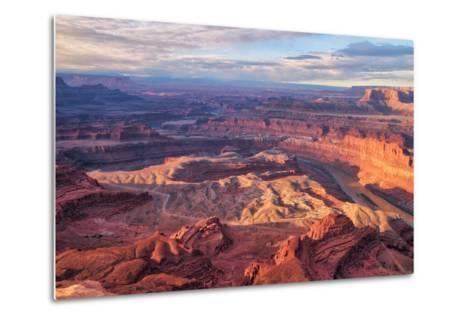 Morning Light at Dead Horse Point, Southern Utah--Metal Print