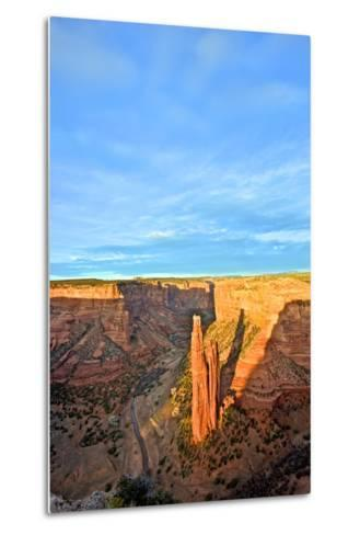 Spider Rock in Canyon De Chelly, Arizona-Richard Wright-Metal Print