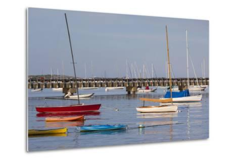 Massachusetts, Cape Cod, Provincetown, the West End, Boats-Walter Bibikow-Metal Print