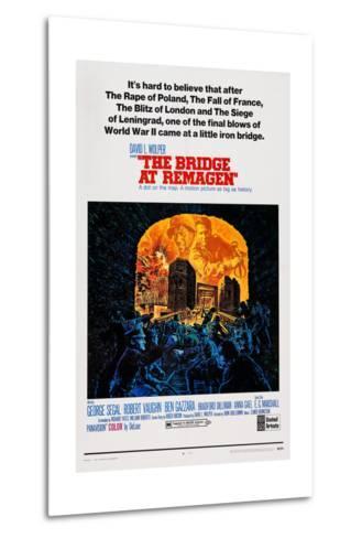 The Bridge at Remagen, Top from Left: George Segal, Ben Gazzara, 1969--Metal Print