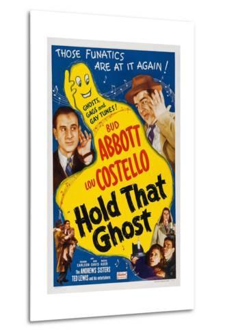 Hold That Ghost, 1941--Metal Print