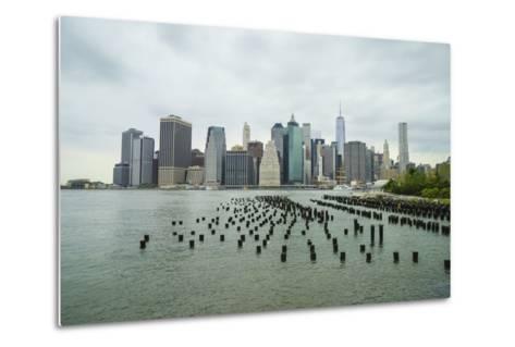 Lower Manhattan Skyline, New York City-Fraser Hall-Metal Print