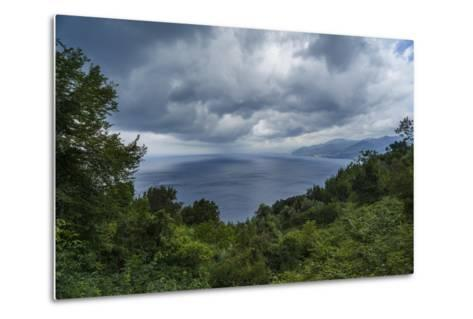 View of the Gulf from San Rocco-Guido Cozzi-Metal Print