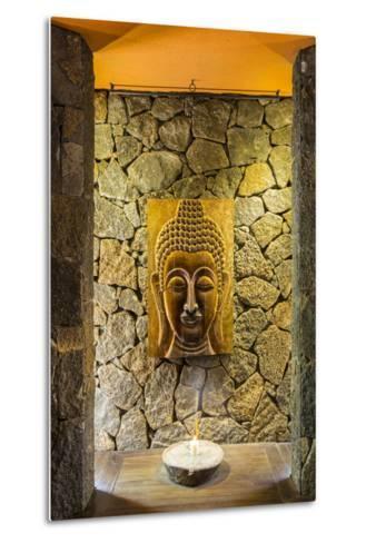 Yoga Room at the Spa in Beachcomber Dinarobin Hotel-Jon Arnold-Metal Print