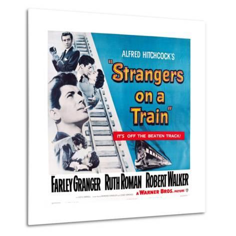 Strangers on a Train, 1951--Metal Print