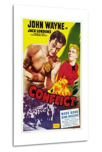 Conflict, 1936--Metal Print