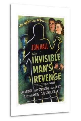 The Invisible Man's Revenge--Metal Print