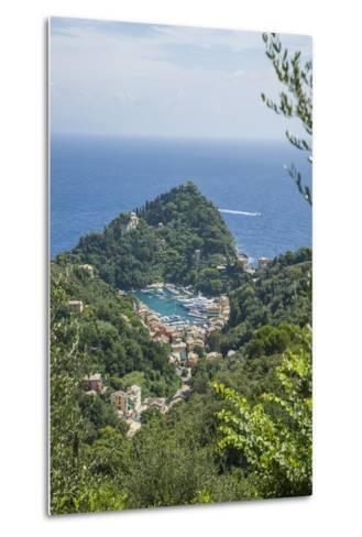View of Portofino-Guido Cozzi-Metal Print