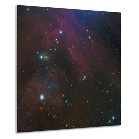 The Waterfall Nebula-Stocktrek Images-Metal Print