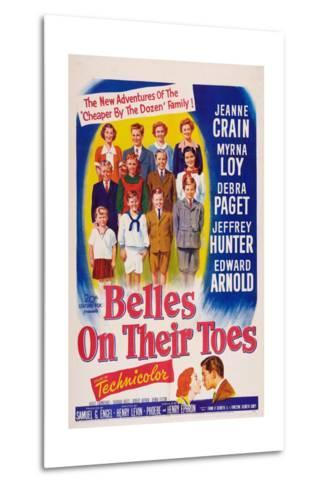 Belles on Their Toes, US, 1952--Metal Print