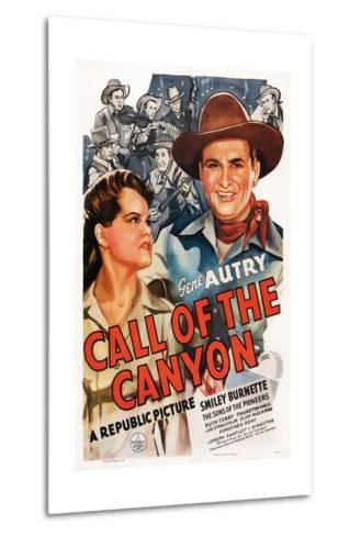Call of the Canyon, Ruth Terry, Gene Autry, 1942--Metal Print