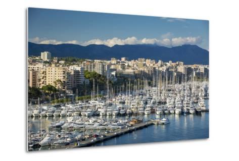 Boats Crowd the Marina in Palma De Mallorca, Mallorca, Spain-Brian Jannsen-Metal Print