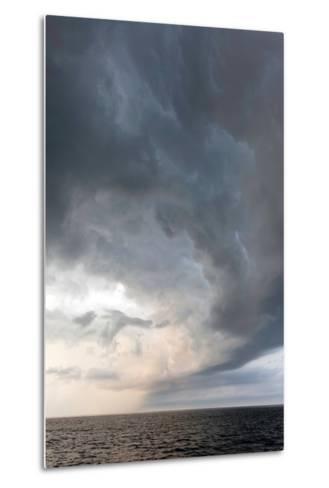 Storm Clouds over the Atlantic Ocean, Massachusetts-Susan Degginger-Metal Print