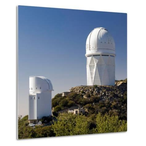Telescopes on Kitt Peak National Observatory, Arizona-Susan Degginger-Metal Print