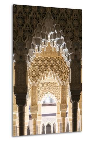 Spain, Andalusia, Granada. the Alhambra-Matteo Colombo-Metal Print