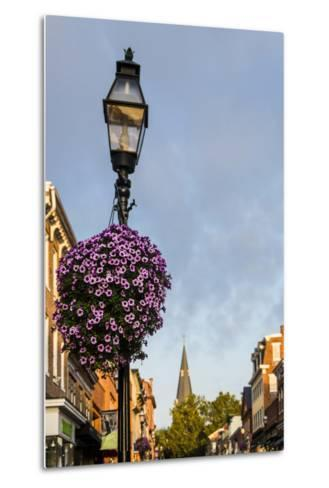 Colonial Architecture in Historic Annapolis, Maryland-Jerry Ginsberg-Metal Print