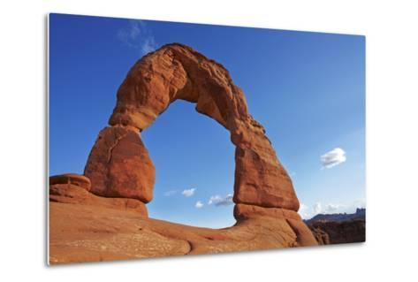 Utah, Arches National Park, Delicate Arch, 65 Ft. 20 M Tall Iconic Landmark-David Wall-Metal Print