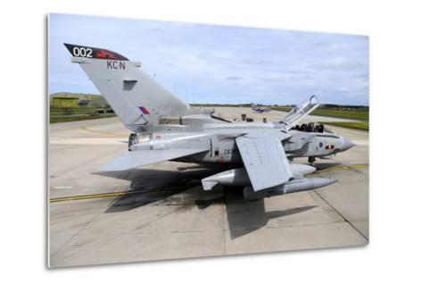 Tornado Gr4 of the Royal Air Force at Raf Lossiemouth-Stocktrek Images-Metal Print