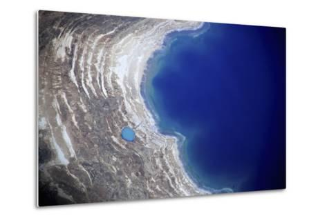 Dead Sea from Above.-Stefano Amantini-Metal Print