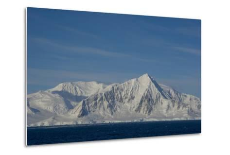 South of the Antarctic Circle, Near Adelaide Island-Inger Hogstrom-Metal Print