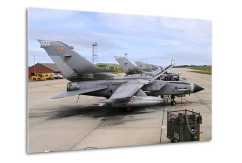 Tornado Gr4 of the Royal Air Force at Raf Lossiemouth-Stocktrek Images-Metal Print