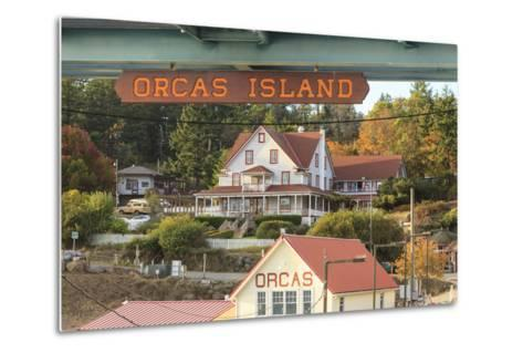 Orcas Hotel, Boutique Hotel on Orcas Island, San Juan Islands, Wa-Stuart Westmorland-Metal Print