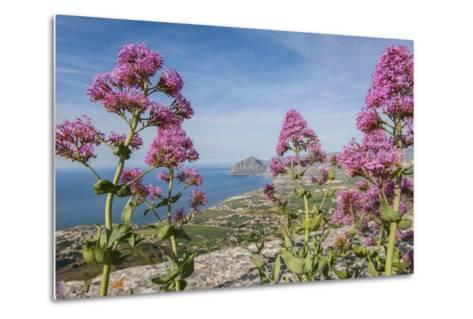 View of Golfo Di Bonagia from Erice-Guido Cozzi-Metal Print