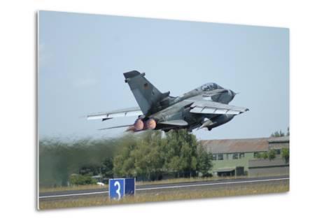 Tornado Ecr of the German Air Force Taking Off from Lechfeld Air Base-Stocktrek Images-Metal Print