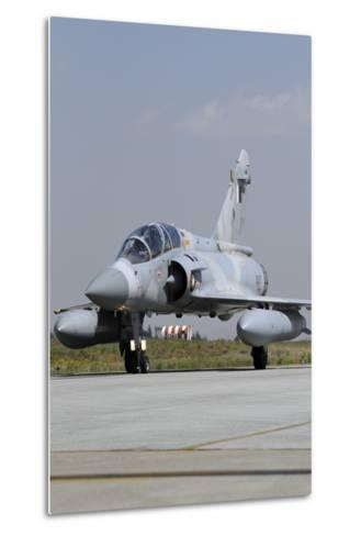 A Mirage 2000-5Dda from the Qatar Emiri Air Force Taxiing at Konya Air Base-Stocktrek Images-Metal Print