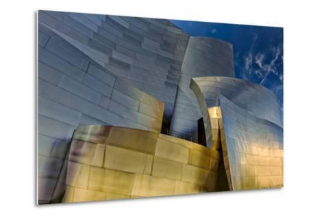 Los Angeles, California. the Disney Concert Hall Exterior-Rona Schwarz-Metal Print